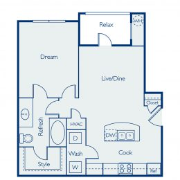 Bell Four Points Austin Floor Plan