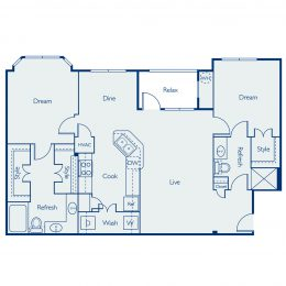 Bell Four Points Brazos Floor Plan