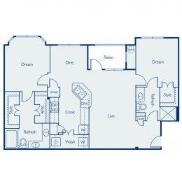 Bell Four Points Brazos Floor Plan