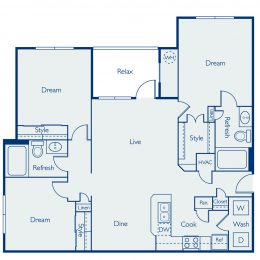 Bell Four Points Mansfield Floor Plan